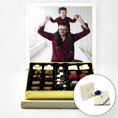 - Babaya Resimli Special Çikolata Hediyesi (Orta Boy)