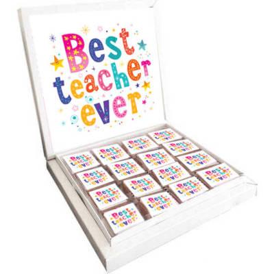 - Best Teacher Ever Öğretmene Çikolata