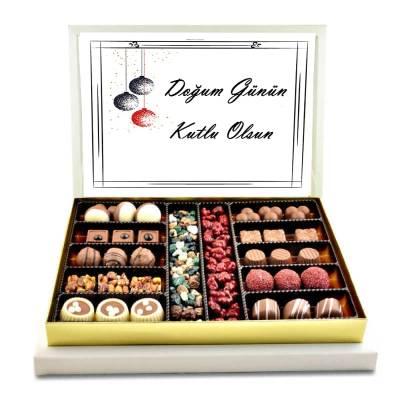 - Doğum Günün Kutlu Olsun Spesiyal Çikolata