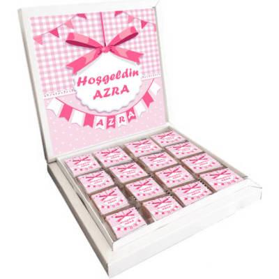 - Fiyonklu Kız Bebek Çikolatası