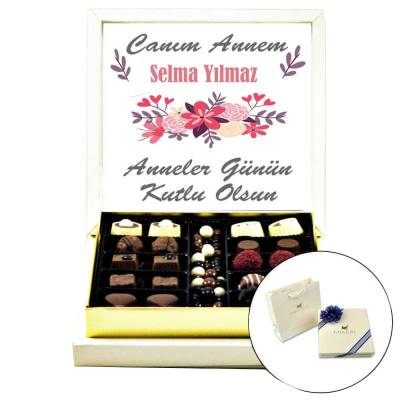 - İsme Özel Anneler Günü Çikolatası (Special Çikolatalı)