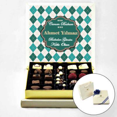- İsme Özel Babalar Günü Çikolatası (Special Çikolatalı)