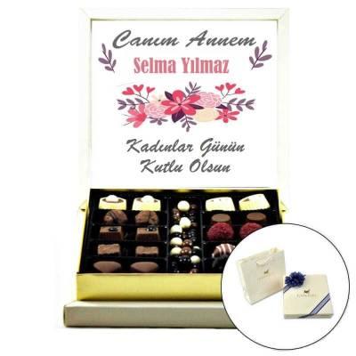 - İsme Özel Kadınlar Günü Çikolatası (Special Çikolatalı)