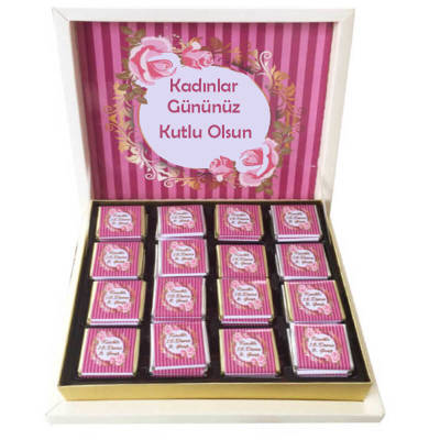 - Kadınlar Günü Hediyelik Çikolata