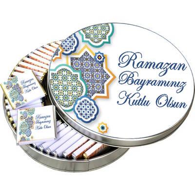 - Metal Kutuda Ramazan Bayramı Çikolatası