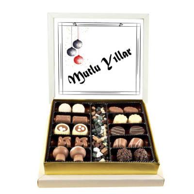 - Mutlu Yıllar Special Çikolata (Orta Boy)