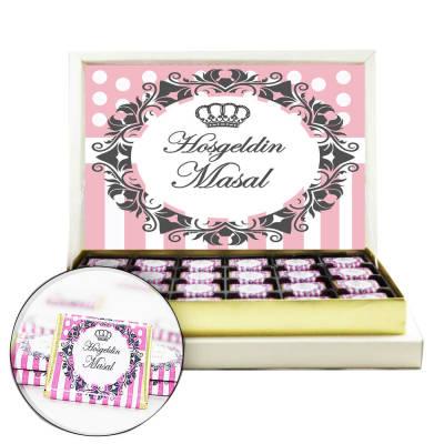 - Prenses Kız Bebek Çikolatası