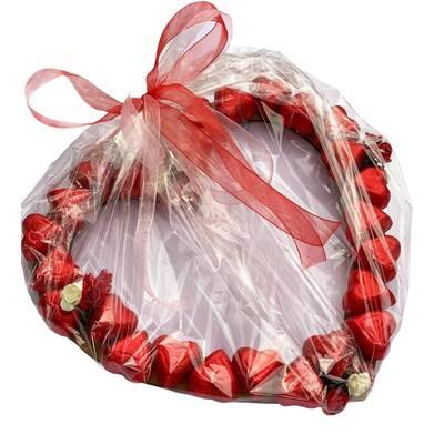 - Sevgiliye Aşk Dolu Kalp Çikolata