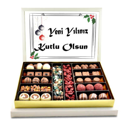 - Yeni Yılınız Kutlu Olsun Special Çikolata (Büyük Boy)