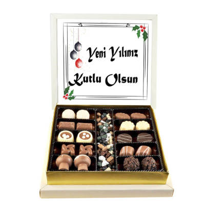 - Yeni Yılınız Kutlu Olsun Special Çikolata (Orta Boy)